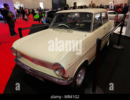 Richard Hammond's 1963 Opel Kadett which he drove in the Top Gear Botswana Special, on display at the DRIVETRIBE stand of the 2018 London Motor Show - Stock Photo
