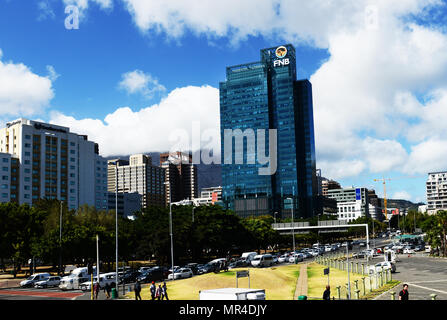 Portside Tower in Cape Town city's center. - Stock Photo