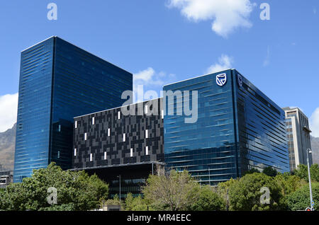 The Towers complex at  Merriman square in Cape Town. - Stock Photo
