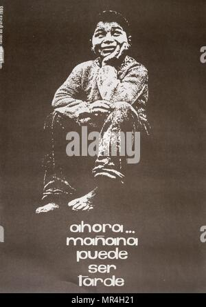 Sandinista National Liberation Front (FSLN) propaganda poster in Nicaragua. The party was named after Augusto Caesar Sandino, who led the Nicaraguan resistance against the United States occupation of Nicaragua in the 1930s. The FSLN overthrew Anastasio Somoza in 1979, ending the Somoza dynasty, and established a revolutionary government in its place. Following their seizure of power, the Sandinistas ruled Nicaragua from 1979 to 1990, first as part of a Junta of National Reconstruction. - Stock Photo