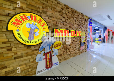 Penang, Malaysia - Nov 12, 2017 : MR. D.I.Y. shop. MR. D.I.Y. is the largest home improvement retailer in Malaysia. The company retails a variety of h - Stock Photo