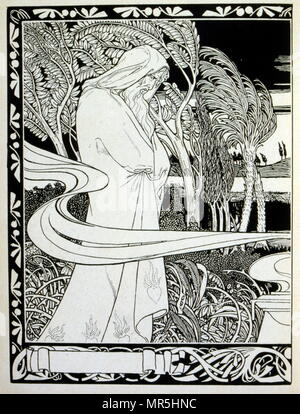 Judah', a collection of ballads by the non-Jewish poet Börries von Münchhausen 1874 - 1945. Illustrated by Ephraim Moses Lilien (1874–1925), art nouveau illustrator and printmaker, noted for his art on Jewish themes. He is sometimes called the 'first Zionist artist. Münchhausen's relationship to Judaism remained ambivalent: Munchhausen did not consider the 'Jewish race' inferior, but merely wanted to prevent a 'mixture' with the non-Jewish Germans.