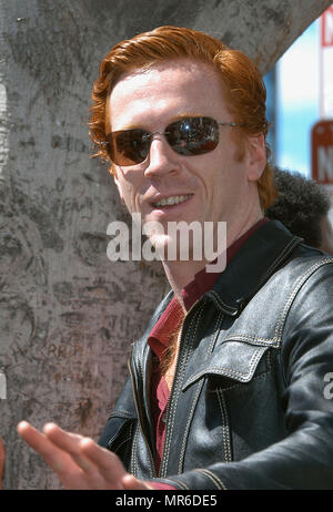 Damian Lewis (co-star with Morgan Freeman in Dreamcatcher) at the Morgan Freeman star induction on the  Hollywood Walk of Fame in Los Angeles. March 18, 2003.LewisDamian013 Red Carpet Event, Vertical, USA, Film Industry, Celebrities,  Photography, Bestof, Arts Culture and Entertainment, Topix Celebrities fashion /  Vertical, Best of, Event in Hollywood Life - California,  Red Carpet and backstage, USA, Film Industry, Celebrities,  movie celebrities, TV celebrities, Music celebrities, Photography, Bestof, Arts Culture and Entertainment,  Topix, headshot, vertical, one person,, from the year , 2 - Stock Photo