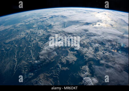 Earth Observation by the Expedition 40 crew aboard International Space Station - Stock Photo