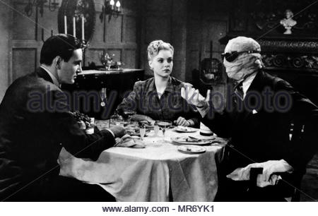 The Invisible Man Returns is a 1940 American horror science fiction film, based on the novel The Invisible Man by H. G. Wells. The screen play for the film was written by Lester Cole and Curt Siodmak (as Kurt Siodmak). The film director was Joe May, who had previously directed The House of the Seven Gables. The cast of the film included Vincent Price, Cecil Kellaway, Sir Cedric Hardwicke, Nan Grey, Alan Napier and John Sutton. - Stock Photo