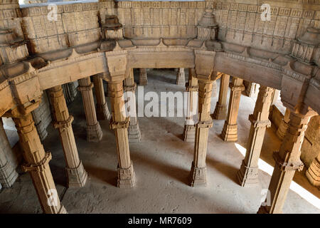 Champaner - Pavagadh Archaeological Park is a historical city in the state of Gujarat. Kevda Masjid mosque. (UNESCO) - Stock Photo