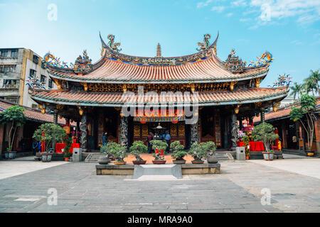 Taipei, Taiwan - April 25, 2018 : Dalongdong Baoan Temple - Stock Photo