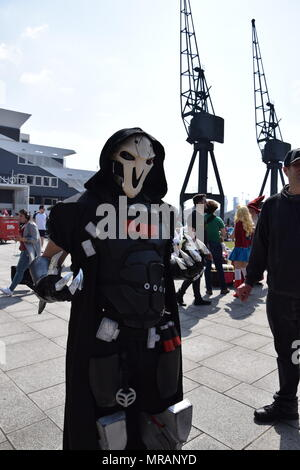 London, UK. 26th May, 2018. Comic Con Cosplay London 2018 Credit: WatfordLondon/Alamy Live News - Stock Photo