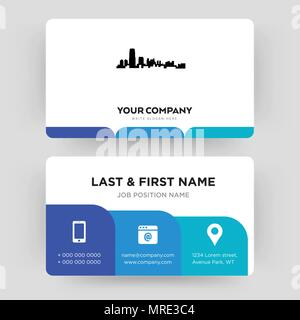 New jersey business card design template visiting for your company new jersey business card design template visiting for your company modern creative and reheart Image collections