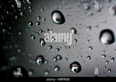 macro droplets bubbles - Stock Photo