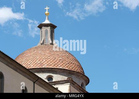 Basilica di Santo Spirito, Oltrarno quarter, Piazza Santo Spirito, Florence, Tuscany, Italy, Europe,