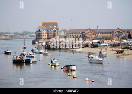 South side Shoreham-by-sea, West Sussex, uk 2018 - Stock Photo