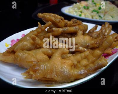Chicken Feet Is A Top Popular Street Food In The Philippines Stock