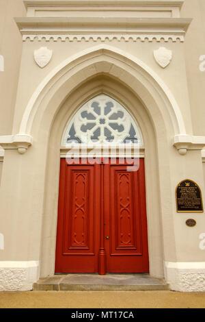 Fredericksburg Baptist Church, 1019 Princess Anne Street, Fredericksburg, Virginia - Stock Photo