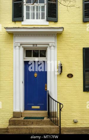 Historic house, 1015 Charles Street, Fredericksburg, Virginia - Stock Photo
