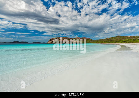 Amazing Lucky Bay in Cape Le Grand National Park. - Stock Photo