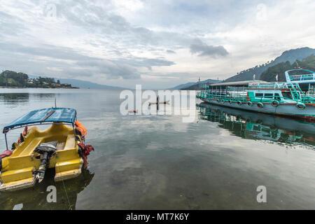 Lake Toba Sumatra Indonesia - Stock Photo