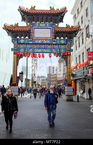 Chinatown, London, England, United Kingdom. - Stock Photo