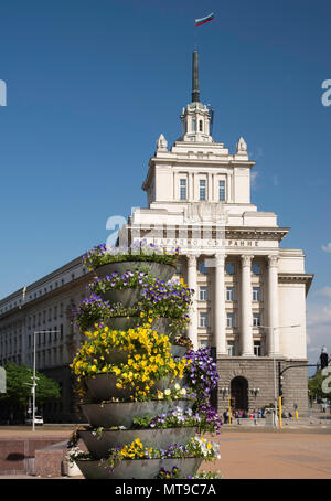 Office house of the National Assembly Building in Sofia, Bulgaria - Stock Photo