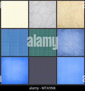 millimeter engineering paper blue graph paper background graph