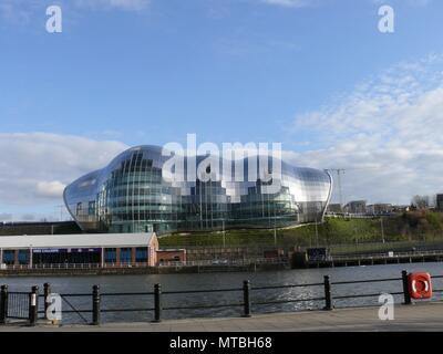 Sage, by the River Tyne, Gateshead - Stock Photo