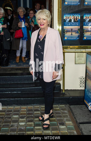 London, UK. 29th May, 2018. Alison Steadman attends the West End opening of Tartuffe at the Theatre Royal Haymarket, London, UK Tuesday 29th May 2018 Credit: Gary Mitchell, GMP Media/Alamy Live News - Stock Photo