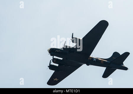 B-17G Flying Fortress - Sally B - Stock Photo