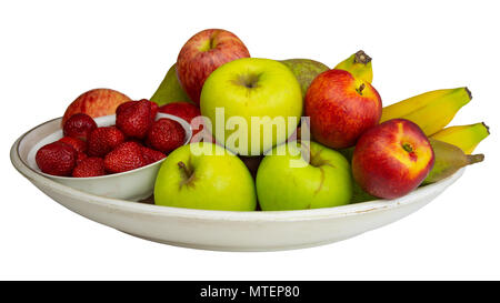 Fruits on a plate - Stock Photo