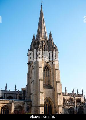 University Church of St Mary the Virgin, Oxford, Oxfordshire, England, UK, GB. - Stock Photo
