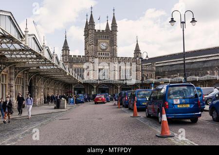 Bristol Temple Meads Railway Station, Bristol, England, UK - Stock Photo
