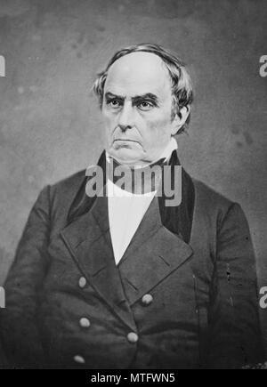 Daniel Webster (1782 – 1852) American politician - Stock Photo