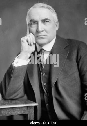 President Warren G. Harding, circa 9200 - Stock Photo