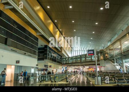 Miami Internationla Airport South Terminal - Stock Photo