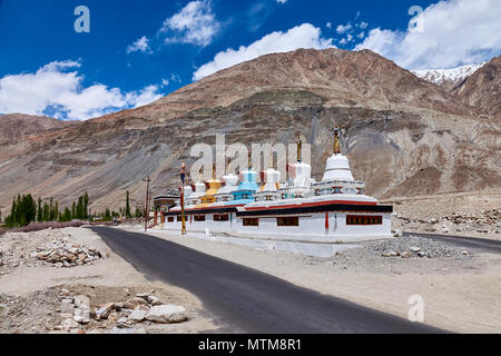 Sumur Buddhist Gompa's Ladakh - Stock Photo
