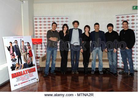 Raoul Bova. Press Conference for the film \'Immaturi\' with Raoul Bova ...