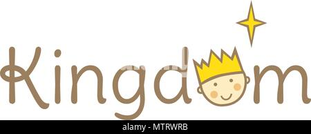 Little King Logo - Stock Photo