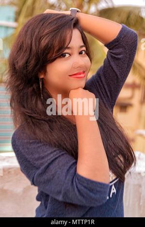 Naughty Girl - Stock Photo