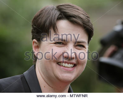 Embargoed to 0001 Thursday May 31 File photo dated 08/03/18 of Scottish Conservative leader Ruth Davidson, who appears in Vogue magazine's inaugural guide to Britain's 25 most influential and aspirational female figures. - Stock Photo