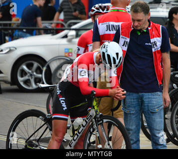 Salisbury, Wiltshire, UK. 31st May 2018. 2018 OVO Energy Tour Series Grand Final. Credit: JWO/Alamy Live News - Stock Photo