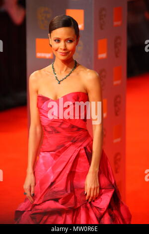 Thandie Newton on the Red Carpet arriving for the 2011 Orange British Academy Film Awards, BAFTA's at The Royal Opera House, Covent Garden, England, UK - Stock Photo