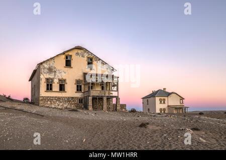 Kolmanskop, Luderitz, Namibia, Africa - Stock Photo