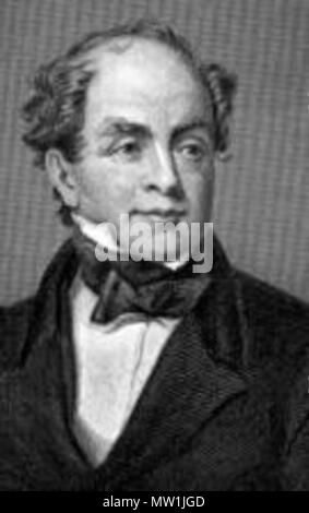 . English: Thomas Moore (28 May 1779 – 25 February 1852), Irish Poet, . Before 25 February 1852. This file is lacking author information. 605 Thomas Moore - Stock Photo