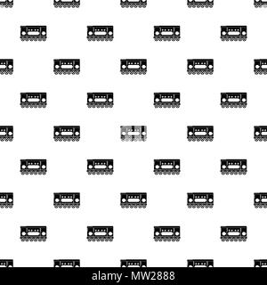 Compartment carriage pattern vector seamless - Stock Photo