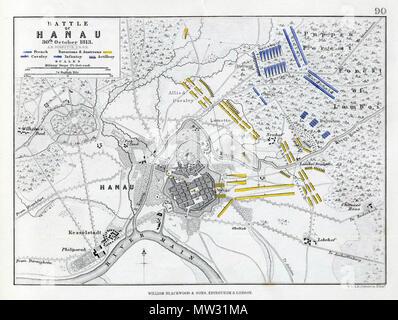 75 Battle Of Hanau 1813 Stock Photo 214050651 Alamy