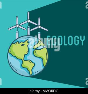 Ecology green world concept - Stock Photo