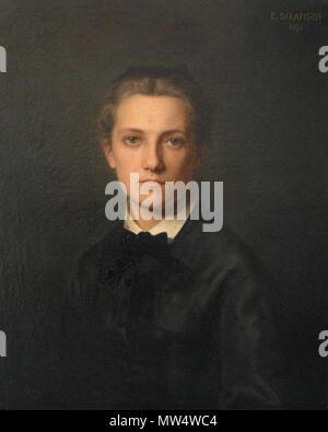. Français: Portrait jeune femme . 19 January 2015, 13:15:20. Eugénie Salanson 495 Portrait jeune femme - Stock Photo