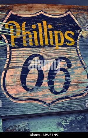 Hackberry Arizona Usa July 24 2017 Phillips 66 Gas Station
