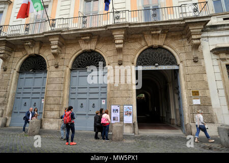 italy, rome, palazzo corsini, galleria nazionale di arte antica, corsini collection art gallery - Stock Photo