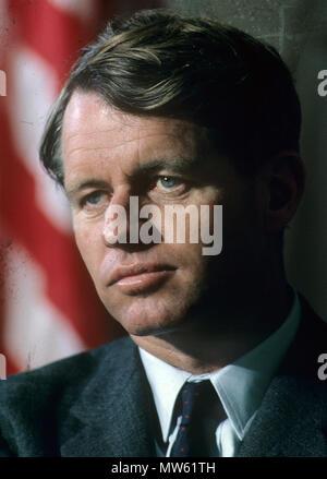 ROBERT F. KENNEDY (1925-1968) American politician in 1965