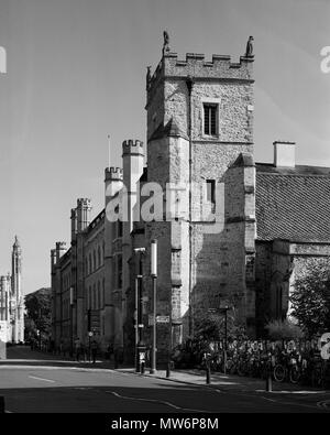 St Botolph's Church, Trumpingcon Street Cambridge - Stock Photo